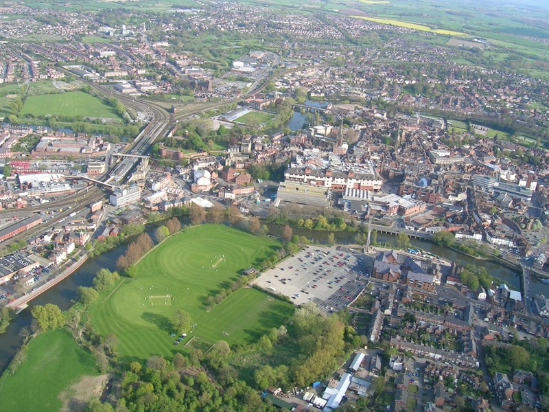 Shrewsbury United Kingdom  city photos gallery : United Kingdom from above